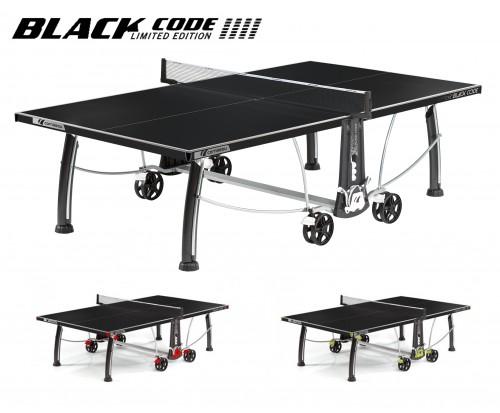 Тенісний стіл Cornilleau Black Code Outdoor (для вулиці)