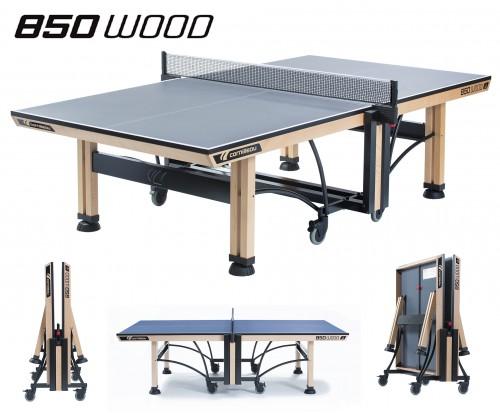 Тенісний стіл Cornilleau 850 Wood Competition ITTF (для