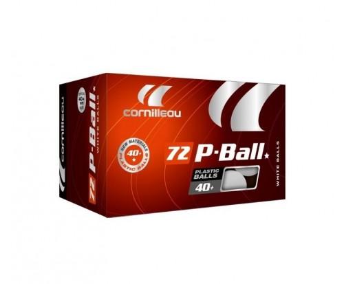 Кульки для настільного тенісу Cornilleau X72 P-ball