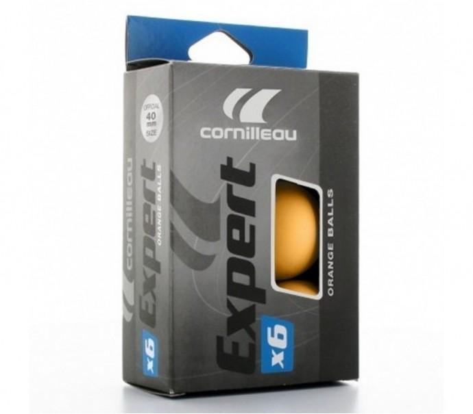 Шарики для настольного тенниса Cornilleau Expert x6