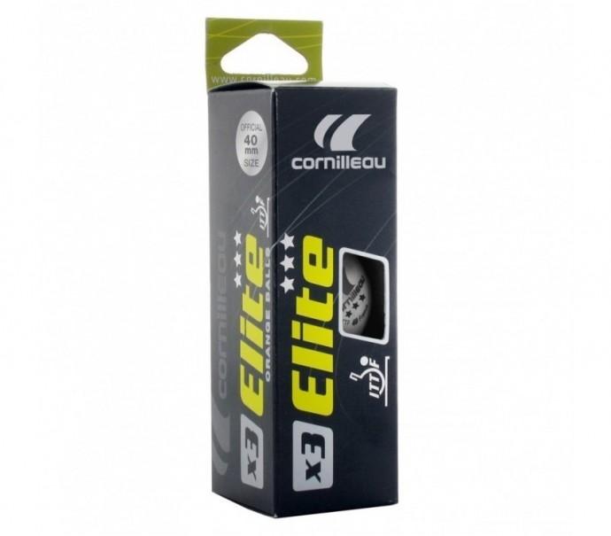 Шарики для настольного тенниса Cornilleau Elite ITTF x3