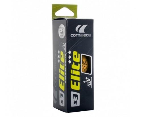 Кульки для настільного тенісу Cornilleau Elite ITTF x3