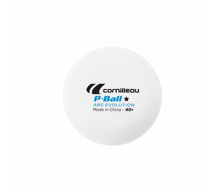 Шарики для настольного тенниса Cornilleau P-BALL * ITTF x6