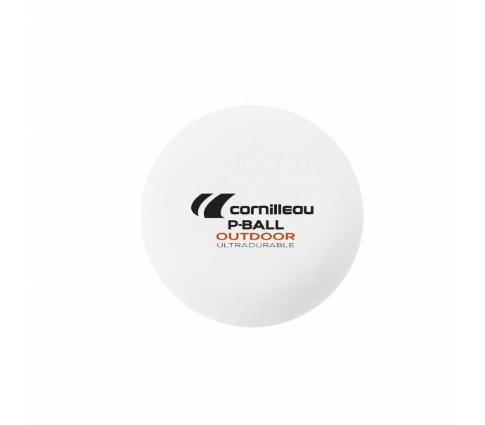 Всепогодные шарики для настольного тенниса Cornilleau P-BALL OUTDOOR ITTF x6